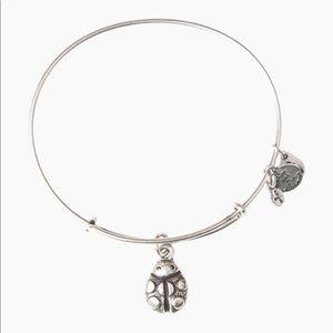 Alex and Ani Ladybug Bracelet